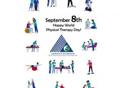 HAPPY SEPTEMBER 8TH WORLD PHYSICAL THERAPY DAY